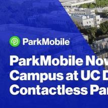 ParkMobile与加州大学戴维斯分校合作提供校园每日停车费