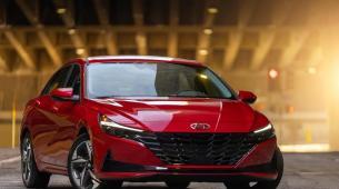 现代伊兰特赢得了享有盛誉的2021年度北美汽车