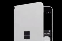 前沿科技资讯:Surface Duo的窥视功能可在泄露的视频中显示呼叫和通知