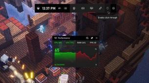 前沿科技资讯:微软推出Xbox Game Bar小工具商店并更新Game Bar